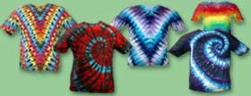 designs featured in Tie Dye 101